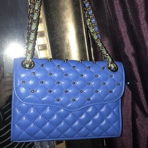 Rebecca Minkoff Mini Quilted Studded Affair